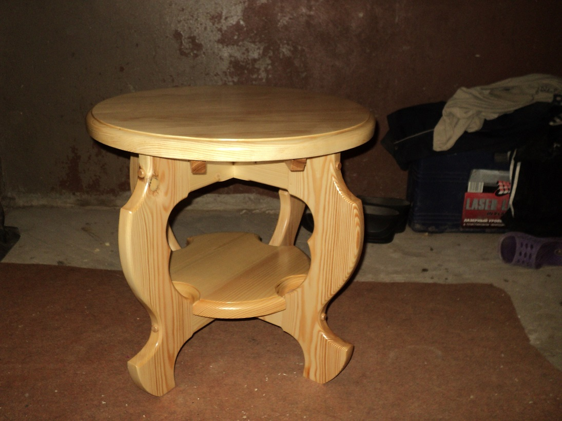 Как сделать круглый стол из фанеры своими руками 98